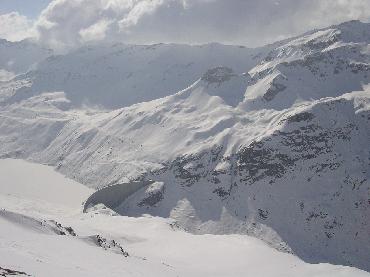 Lac Moiry Winter 03