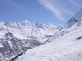 Berge Zinal mit Matterhorn